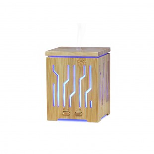 Bamboo 2 Essential Oil Aromatherapy Diffuser Humidifier 200ml