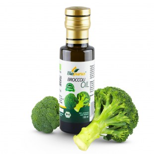 Certified Organic Cold Pressed Broccoli Seed Oil 100ml Biopurus