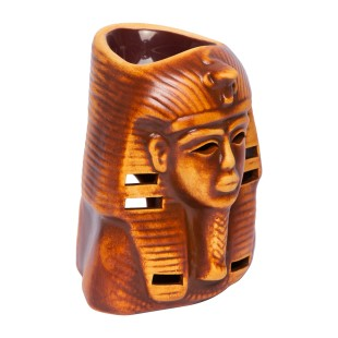 Pharaoh Handmade Ceramic Aroma Lamp - Essential Oil Burner for Aromatherapy