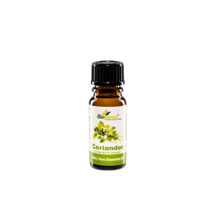 100% Pure Coriander Essential Oil 10ml Biopurus