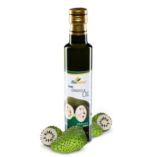 Pure Cold Pressed Graviola / Soursop Oil 250ml Biopurus
