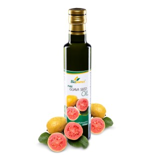 Pure Cold Pressed Guava Seed Oil 250ml Biopurus