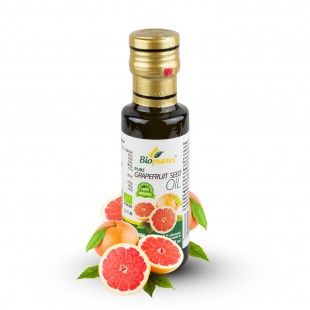 Certified Organic Cold Pressed Grapefruit Seed Oil 100ml Biopurus