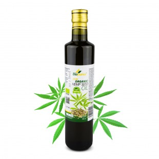 Certified Organic Cold Pressed Hemp Seed Oil 500ml Biopurus