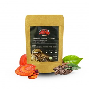 Organic Reishi extract Black Coffee instant 60g ANi