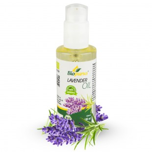Certified Organic Lavender Cosmetic Infused Oil 100ml Biopurus