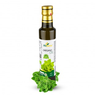 Certified Organic Oregano Seed Infused Oil 250ml Biopurus