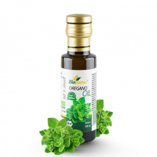 Certified Organic Oregano Seed Infused Oil 100ml Biopurus