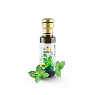 Certified Organic Peppermint Seed Infused Oil 100ml Biopurus