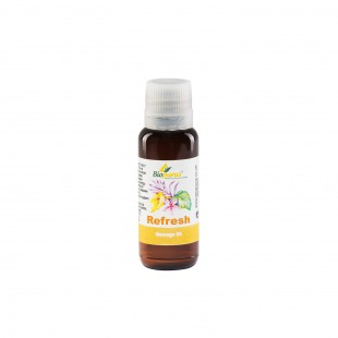 Massage Essential Oil Refresh 30ml Biopurus