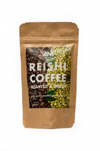 Organic Roasted & Green Coffee With Reishi Powder Grounded 100g ANi