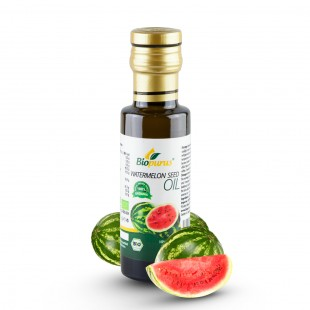 Certified Organic Cold Pressed Watermelon Seed Oil 100ml Biopurus