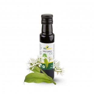 Wild Garlic / Ramsons Infused Oil 100ml Biopurus