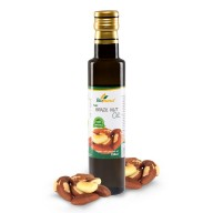 Certified Organic Cold Pressed Brazil Nut Oil 250ml Biopurus