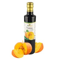 Certified Organic Cold Pressed Pumpkin Roasted Seed Oil 500ml Biopurus