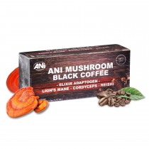 Premium Mushroom Black Coffee With Reishi Cordyceps Levia 20×3g ANi