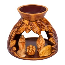 Bethlehem Handmade Ceramic Aroma Lamp - Essential Oil Burner for Aromatherapy