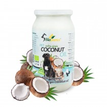 Organic Extra Virgin Pets Coconut Oil For Dogs and Cats 950ml Biopurus