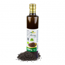 Certified Organic Cold Pressed Black Cumin / Black Seed Oil 500ml Biopurus