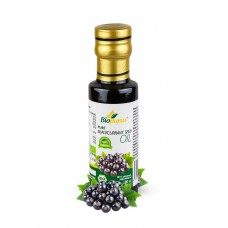 Certified Organic Cold Pressed Blackcurrant Seed Oil 100ml Biopurus