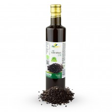Certified Organic Cold Pressed Black Sesame Oil 500ml Biopurus