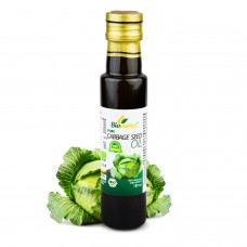 Pure Certified Organic Cold Pressed Cabbage Seed Oil 100ml Biopurus