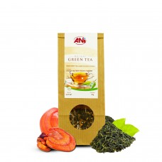Organic Green Loose Leaf Tea With Reishi Powder 70g ANi