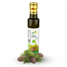 Certified Organic Cold Pressed Cedar Oil 250ml Biopurus