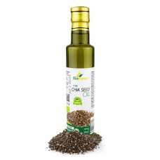 Certified Organic Cold Pressed Chia Seed Oil 250ml Biopurus
