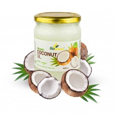Cold Pressed Extra Virgin Coconut Oil 500ml Biopurus
