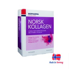Premium Norwegian Hydrolyzed Marine Collagen Powder with Vitamin C and Biotin