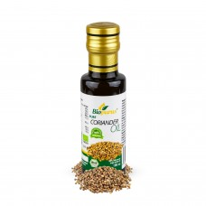 Certified Organic Cold Pressed  Coriander Oil 100ml Biopurus
