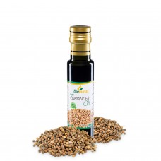 Certified Organic Cold Pressed Coriander Seed Blended 1:2 Oil 100ml Biopurus