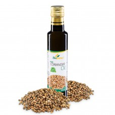 Certified Organic Cold Pressed Coriander Seed Blended 1:2 Oil 250ml Biopurus