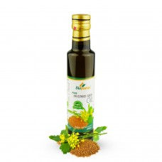 Certified Organic Cold Pressed Mustard Seed Oil 250ml Biopurus