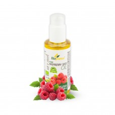 Certified Organic Cold Pressed Raspberry Seed Cosmetic Oil 100ml Biopurus