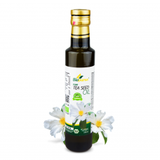 Certified Organic Cold Pressed Tea Seed / Camellia oleifera Oil 250ml Biopurus