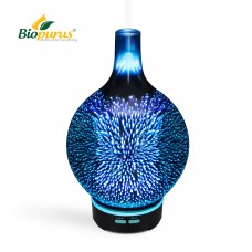 3D Glass Essential Oil Aromatherapy Diffuser Humidifier 100ml
